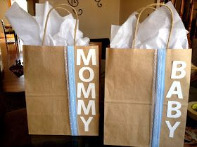 Not only a gift for the baby but for the mom too! This is great for baby showers :)