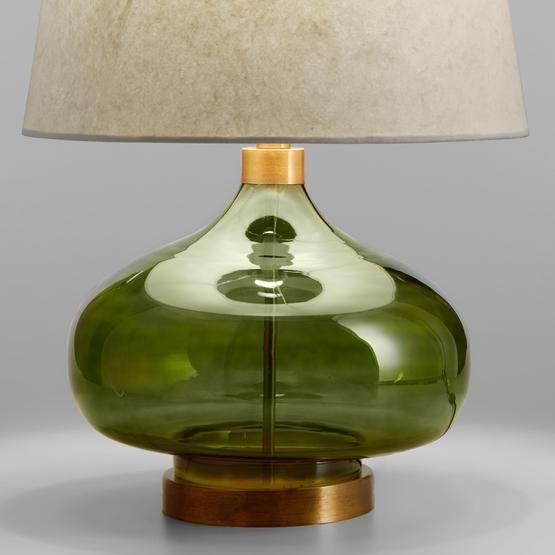 Dark Hunter Green Paint Decor And Inspiration Green Table Lamp Table Lamp Base Lamp Bases
