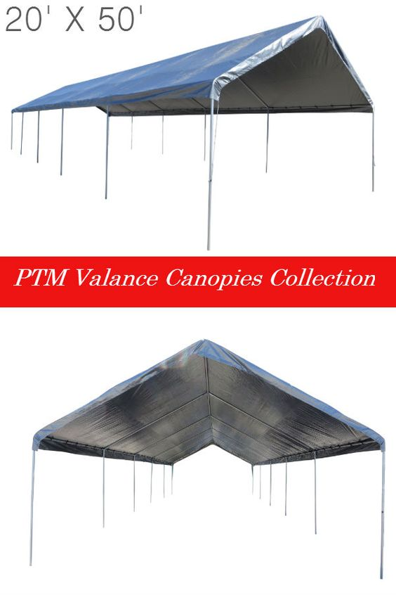 PTMu0027s 20u0027 X 50u0027 Silver Valance Canopy is a must have for a great turnout on your next party. The canopy features a sleek waterproof and UV resistau2026  sc 1 st  Pinterest & PTMu0027s 20u0027 X 50u0027 Silver Valance Canopy is a must have for a great ...