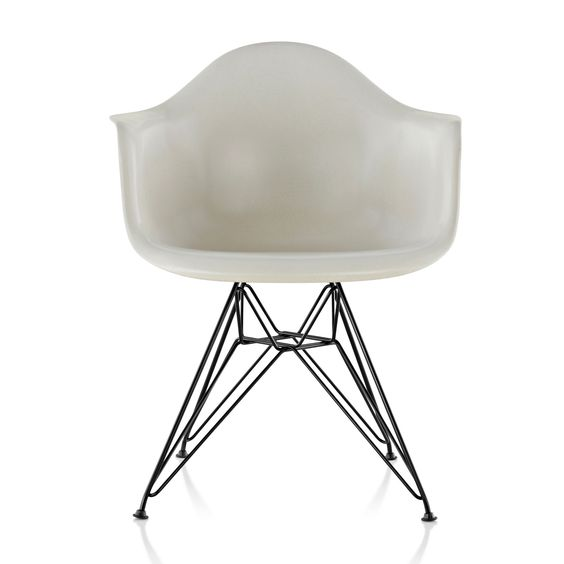Eames Molded Wood Side Chair with Wire Base | Smart Furniture loved by #maisonbrunet