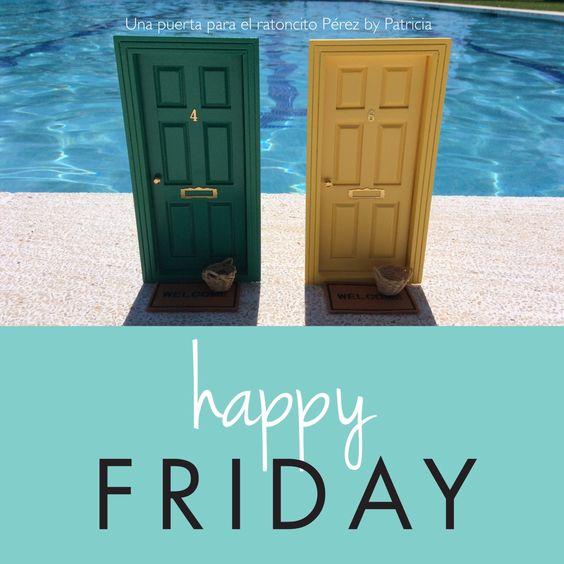 Happy friday  puerta ratoncito perez, raton perez, ratoncito perez, puerta raton perez, puerta hadas, fairy door, regalos para niños, regalos originales, decoracion infantil, hada de los dientes, tooth fairy,