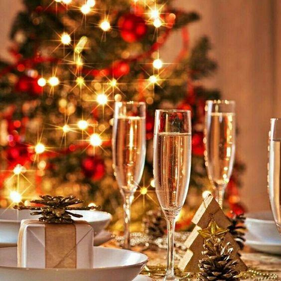 Mesa de Natal @christmas_interior