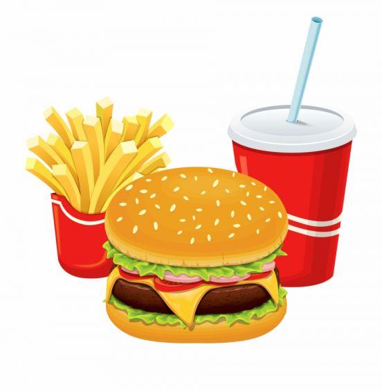 16+ Fast Food Png Images Food png Hamburger and fries Food