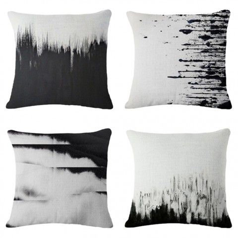 Pin By Shannon Van Matre On Black And White Decorative Pillows Modern Couch Pillows White Decorative Pillows Modern Couch