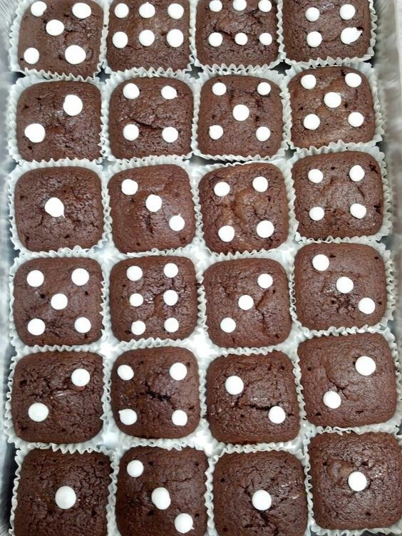 Dice Brownies - Is anyone still playing Bunco?                                                                                                                                                      More