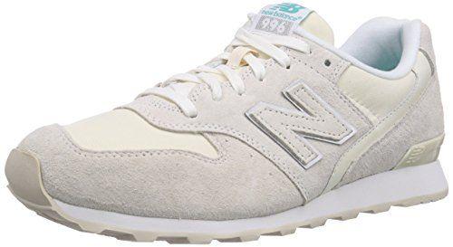 New Balance WR996, Damen Laufschuhe, Beige (Beige), 37.5 EU (5 Damen UK) - http://uhr.haus/new-balance/37-5-eu-new-balance-996-damen-sneaker-38-dunkelblau