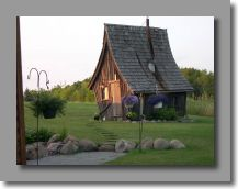 """Rustic """"guest cottage"""" so cute!"""