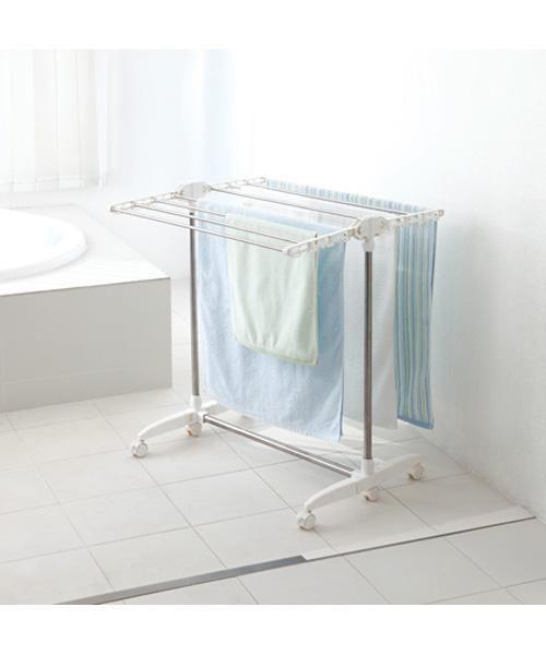 ニトリ コンパクトに収納できるバスタオルハンガー Prs 6通販 タオルハンガー ハンガー バスタオル