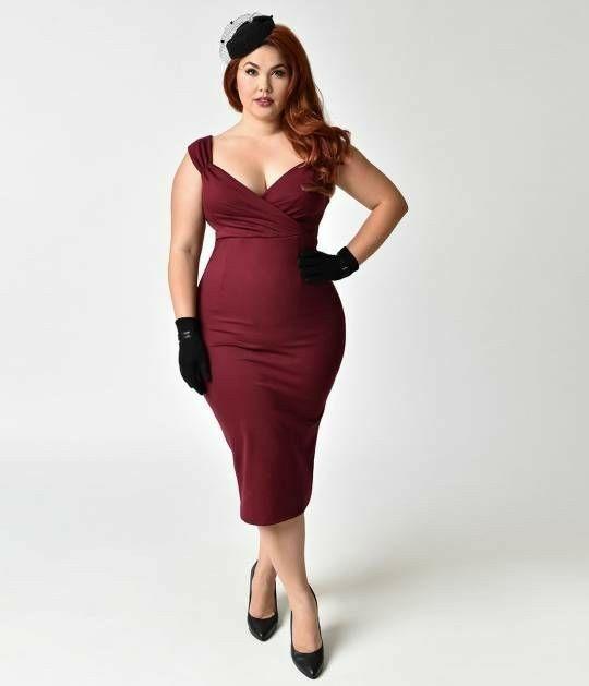 Gigi Marie   Curves ahead   Plus size red dress, Dresses ...