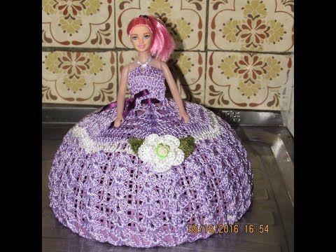 Fazendo Vestido De Abafador De Croche Passo A Passo Youtube