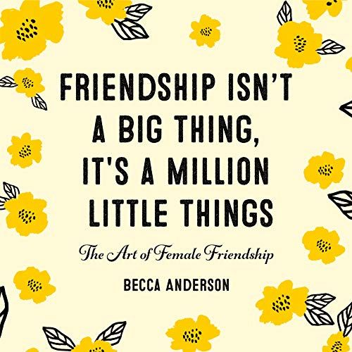 Download Pdf Friendship Isnt A Big Thing Its A Million Little
