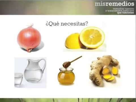 Remedios caseros para la tos con cebolla y limon