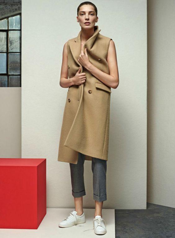 Daria Werbowy shot by Karim Sadli & styled by Grace Coddington   Vogue US   April 2014   Kicking Back