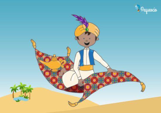 Aladino Y La Lámpara Maravillosa Pequeocio Aladino Y La Lampara Maravillosa Aladino Cuento Infantiles