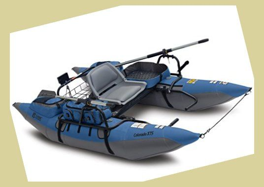 Classic Accessories Colorado Xts Inflatable Fishing Pontoon Boat With Transport Wheel Motor Canoe Accessories Canoe Cooler Fishing Pontoon Boats