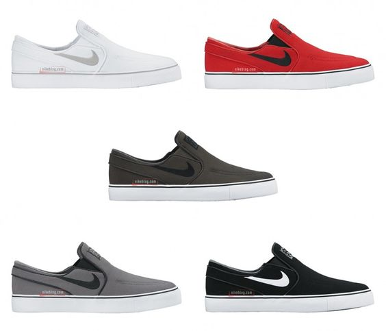 nike casual slip on shoes