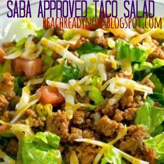 Beach Ready Now: Clean Eating Taco Salad