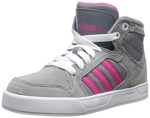 great adidas NEO Raleigh Basketball-Inspired Sneaker (Little Kid/Big Kid)