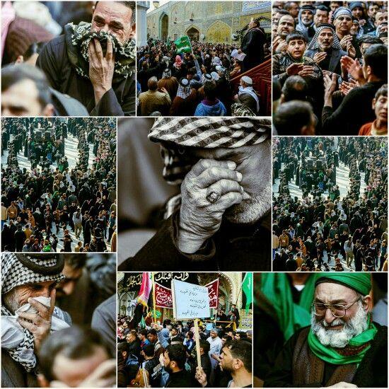 [ 28 Safar 1437 ]  Moments for the Commemoration the Martyrdom of Prophet Muhammad in Imam Ali Holy Shrine