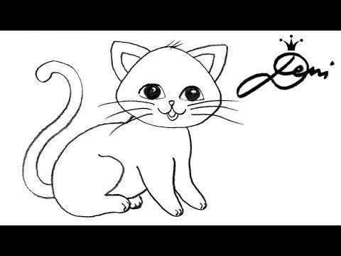 Kaninchen Zeichnen Lernen Nach Foto Eines Zuschauers How To Draw A Bunny Kak Se Risuva Zajche Youtube Tiere Malen Katze Malen Katze Zeichnen