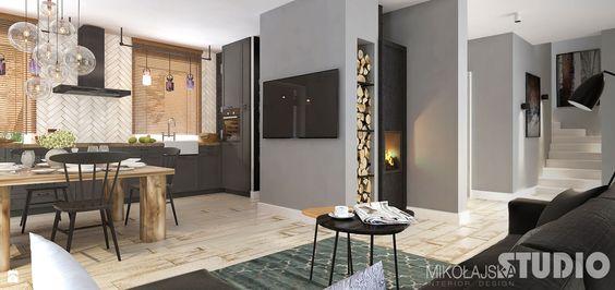 soft-loft-wiejski - zdjęcie od MIKOŁAJSKAstudio - Kuchnia - Styl Eklektyczny…
