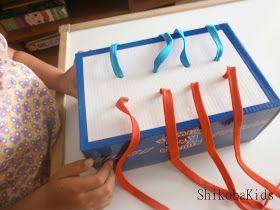 Shikoba Kids: Bastidor de lazos Montessori DIY