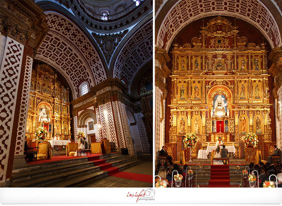 Bodas en Quito -  Iglesia de Guápulo