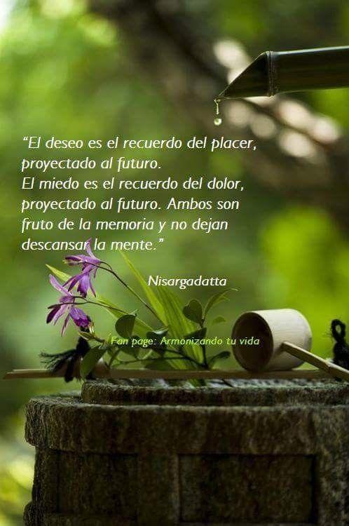 El Deseo Es El Recuerdo Del Placer Proyectado Al Futuro El