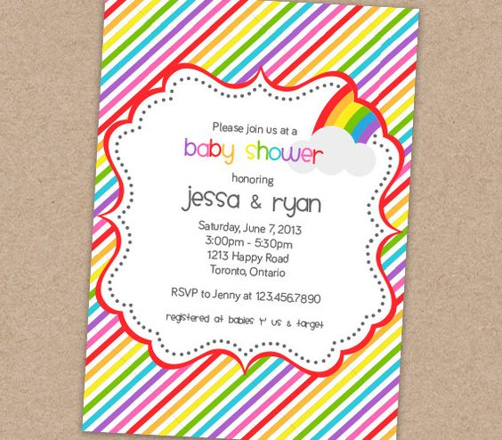 rainbow baby shower invitation printable by bellasboutiquedesign 13