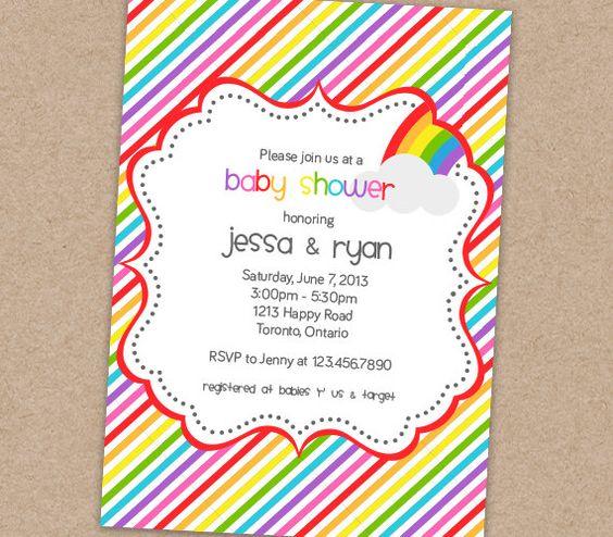 rainbow baby shower invitation printable by bellasboutiquedesign 13