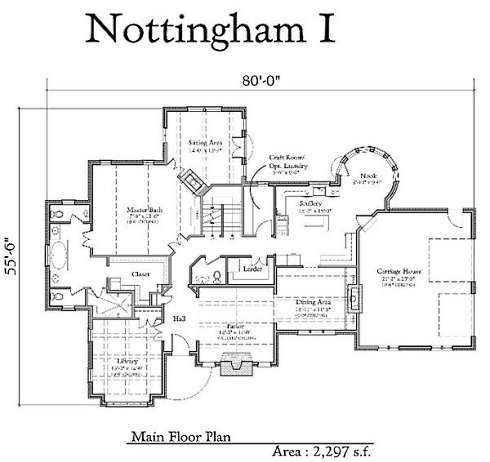 Storybook homes nottingham i architecture i like Storybook cottages floor plans