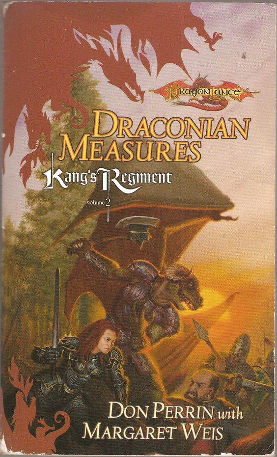 Draconian Measures. by Don Perrin with Margaret Weis. Dragon Lance. Kang's Regiment Volume 2.