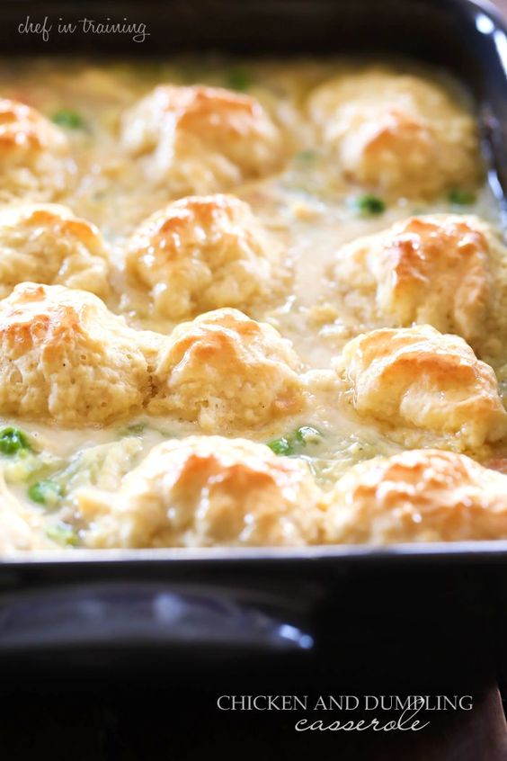 Rotisserie chicken and biscuit dumplings recipes