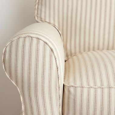 Stripes Slipcovers And Street On Pinterest