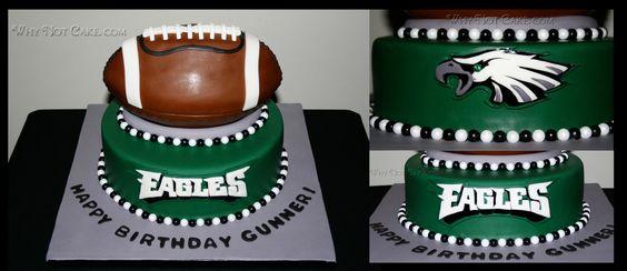 Cake Decorating Heidelberg : philadelphia eagles cake images - Google Search ...