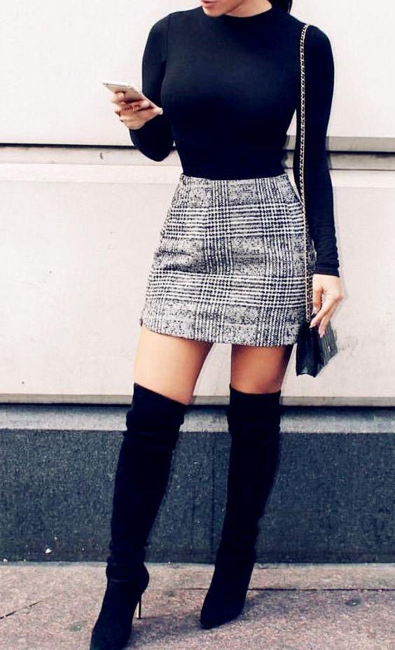 kjol och topp