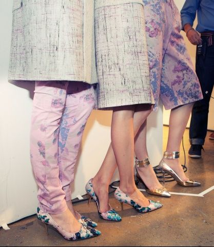 Peter Som Spring 2013: Pastels Prints, Fashion, Pretty Prints, Inspiration, Clothes Shoes Accessories, 2013 Color, Spring, Prints Peter