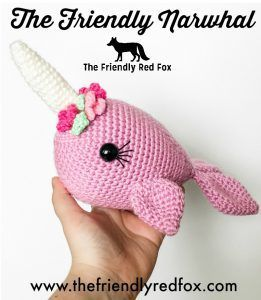 Blue Whale and Narwhal amigurumi patterns - Amigurumi Today | 300x261