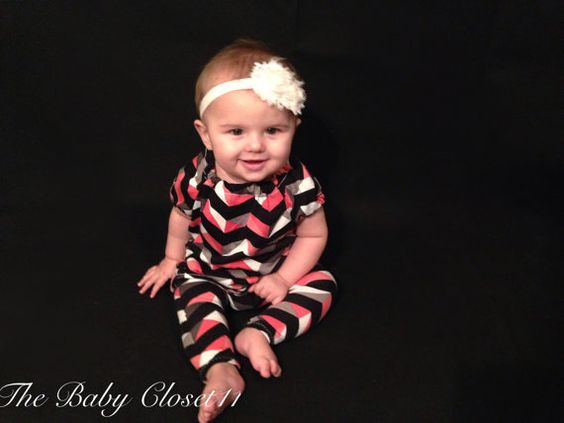 Girls Dress and Leggings Pink Coral, Gray, Black and White,Outfit set, 0-3 Months, 3-6 Months, 6-9 Months,9-12 Months, 12-18 Months  These soft