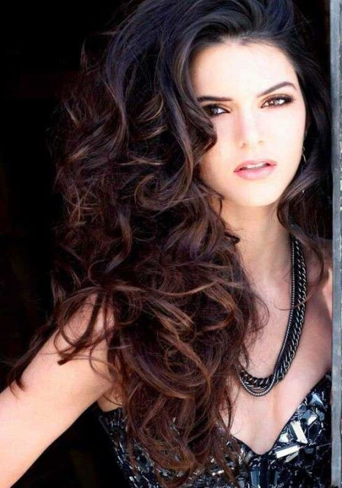 Incredible Long Curly Hairstyles Hairstyles 2016 And Long Curly On Pinterest Hairstyles For Women Draintrainus