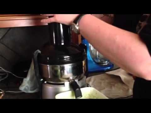 Making Mean Green Juice