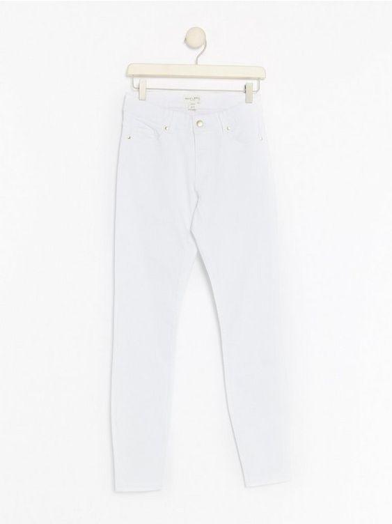 Vit TOVA Vita slim fit jeans 299:- | Lindex