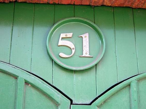 Artistic House Numbers