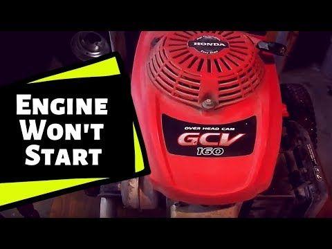 Honda Gcv 160 Pressure Washer Power Washer Won T Start Youtube Pressure Washer Engine Repair Repair
