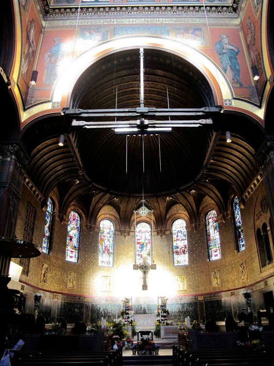 Murals at Trinity - William Morris Fan Club: Trinity Church, Copley Plaza, Boston