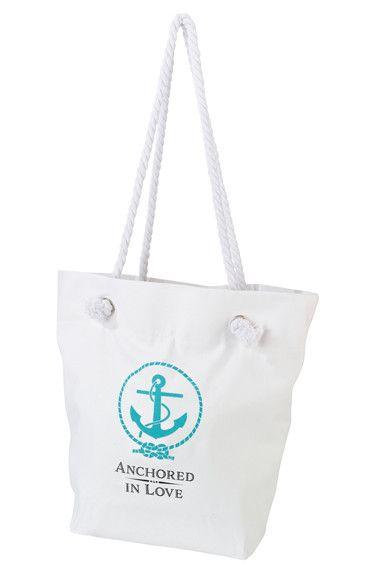 Anchored in Love Beach Bag TR674 AL