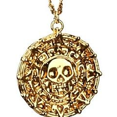 Pirates Of The Caribbean Aztec Antique Gold Skull Pendant Necklace Exaggerated Men Fashion Vintage Necklace. Get thrilling discounts up to 70% Off at Light in the Box with coupon and Promo Codes.