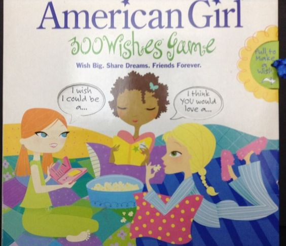 American Girl 300 Wishes Board Game Complete Diary Key
