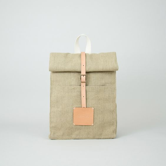 SALE: up to 50% off. Top Roll Rucksack Raw Natural - €139