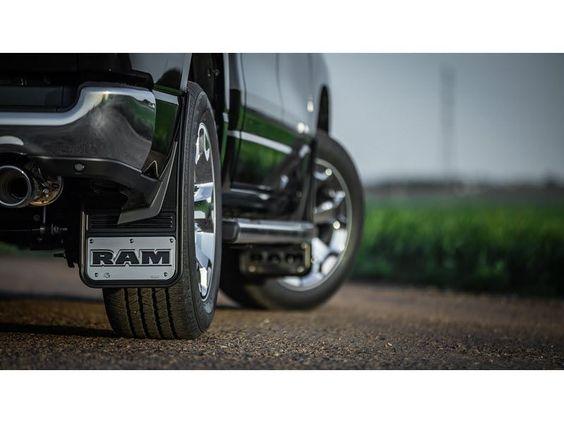 Gatorback 2019 4 Dodge Ram HD Complete No Drill Mudflap Set